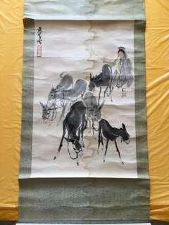黃冑 —早期木刻水印 Chinese painting