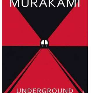 Underground: The Tokyo Gas Attack and the Japanese Psyche (Haruki Murakami)