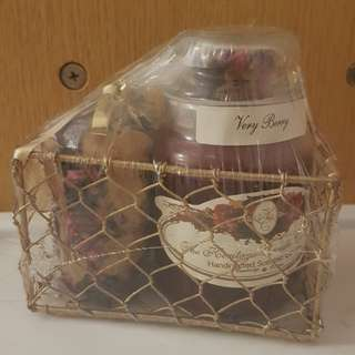 Scented Berry candle