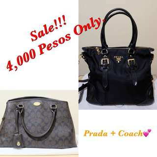 Buy 1 take 1 Coach and Prada