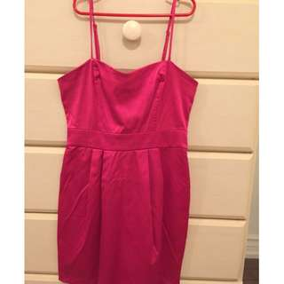 Pink dress (size small) from FOREVER 21 USED ONCE