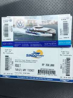 Sindo Majestic Batam Fast - Batam Ferry Tickets