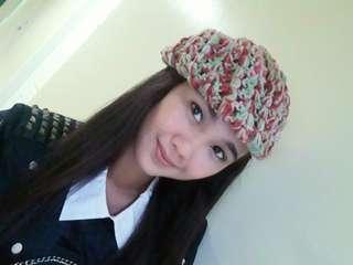 Colorful beanie/bonnet/beret