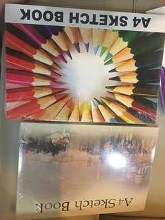 Buku gambar kiky A4