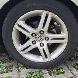 Honda FD2 rims