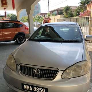 [DIRECT OWNER] Toyota Altis 1.8 (A)