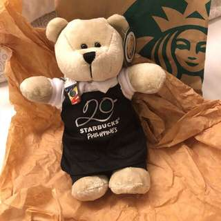 Starbucks 25th Anniv Bearista