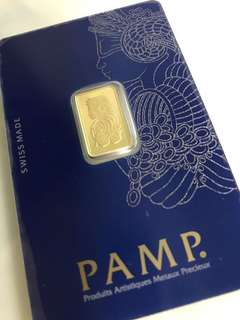 PAMP Pure Gold Bars of different weights (999 Gold) ❤️❤️