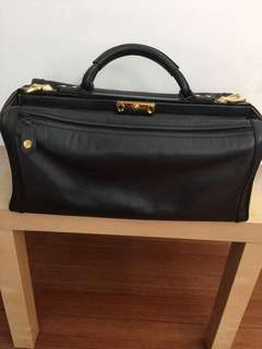 Genuine Leather Doctor's Hand Carry Bag