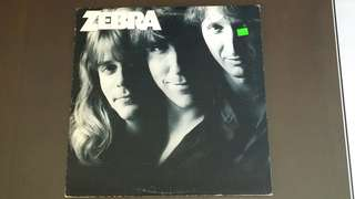 ZEBRA . take your fingers from my hair. Vinyl record