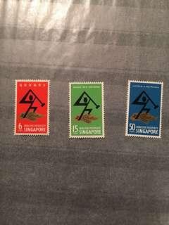 1968 National Day UM mint stamp set fresh gum