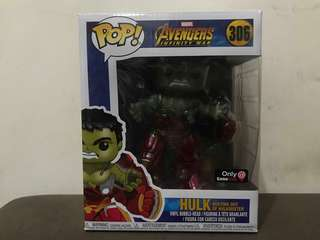 Hulk Busting Out of Hulkbuster Gamestop Exclusive