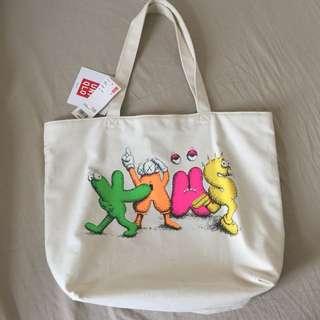 Uniqlo X Kaws Tote Bag $100