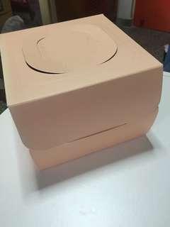 一磅裝蛋糕盒