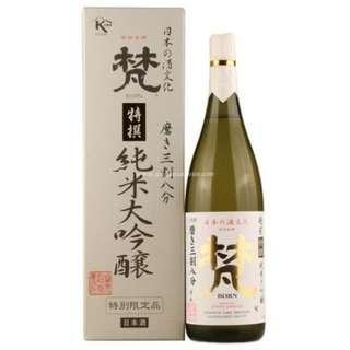 Born Tokusen Junmai Daiginjyo 梵特撰三割八分純米大吟釀 720ml