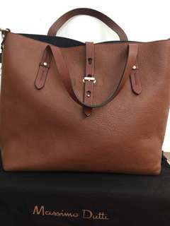 MASSIMO DUTTI Leather Handbag