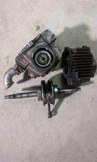 Ex5 high power grandshaft, block & head original motor