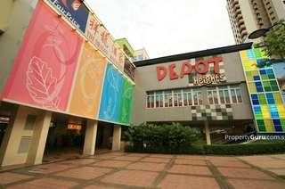Depot heights shopping mall ground floor unit for rent