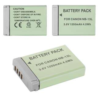 全新佳能相機代用電池 Brand New Canon PowerShot G5 X / G7 X / G9 X / SX720 NB-13L Replacement Battery