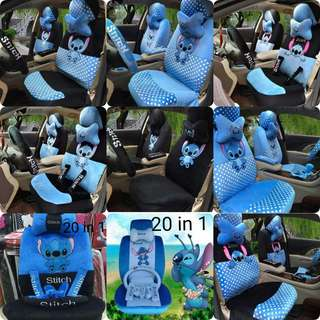 Stitch Design Car Seat Cover