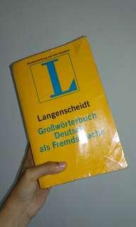 Kamus Jerman Langenscheidt Deutsch als Fremdsprache