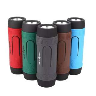 Portable Speaker with Torchlight