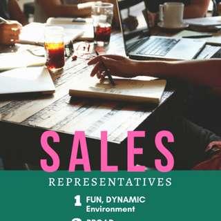 Sales Representatives (Roadshows)