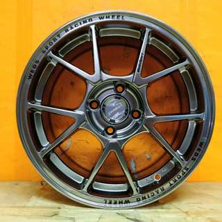 15inch SPORT RIM WEDSSPORT TC005 RACING WHEELS