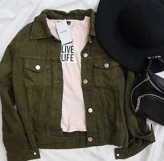 Army Basic Jacket Jeans