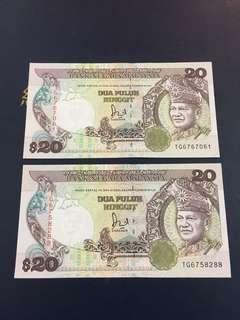 RM 20 JAAFAR