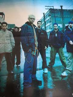 Linkin Park Poster from LIME Magazine