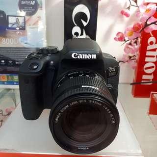 Kamera Canon 800d EF 18-55 Dslr (Kredit BUNGA 0%)