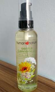 Human Nature 100% Natural Gentle Cleansing Oil Makeup Remover