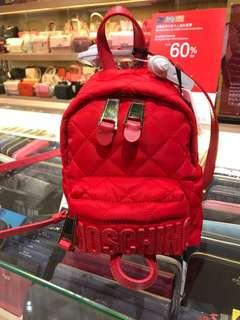 Moschino小背包99%new 只用過一次(原價$3950)