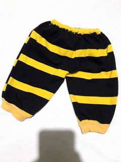 Bumblebee pajama pants for 12-18mos!
