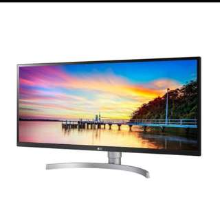 "LG 34WK650-W 34"" Class 21:9 UltraWide® Full HD IPS LED Monitor with HDR 10 (34"" Diagonal)"