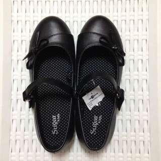 BRAND NEW Sugar Kids Black Shoes