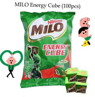 Milo energy cubes 美祿小方塊