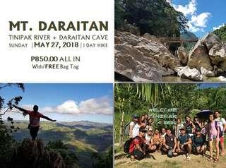 Mt. Daraitan + Tinipak River + Daraitan Cave