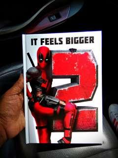 Marvel Deadpool 2 notebook