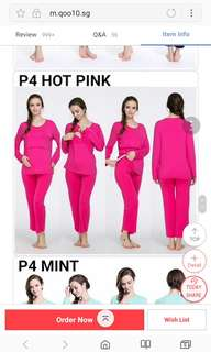 confinement pajamas nursing wear