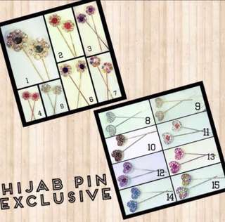 Hijab Pin Exclusive (Korean Hijab Pin) - FREE Normal Mail