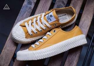 🚚 芥黃色餅乾鞋 尺寸22