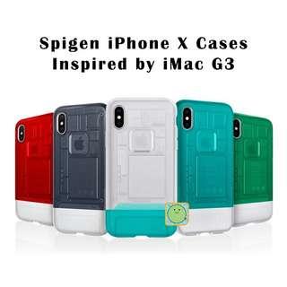 IPHONE X SPIGEN IMAC G3 PHONE CASE