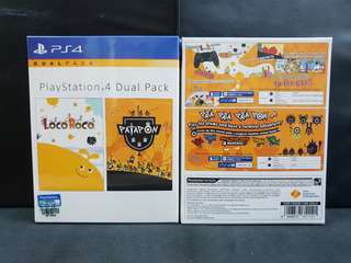 [BN] PS4 Locoroco + Patapon Dual Pack (Brand New)