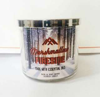 Bath and Body Works - Marshmallow Fireside candle