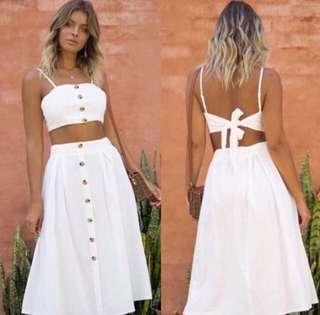 Summer Top & Skirt
