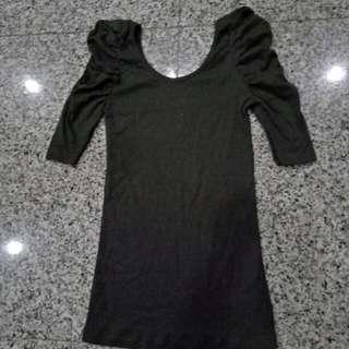 Sweet Black Modern Dress