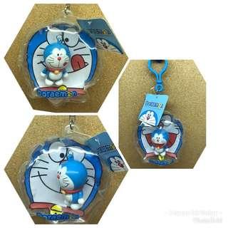 🚚 (3入)哆啦a夢 小叮噹 吊飾 鑰匙圈 充氣