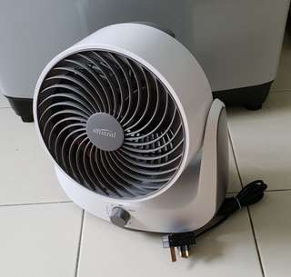 Pristine Mistral Fan MHV90 8 inch High Velocity Fan in White